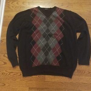 Van Heusen mens vneck sweater size XL